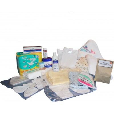 Baby Hospital Diaper Bag Contents Only