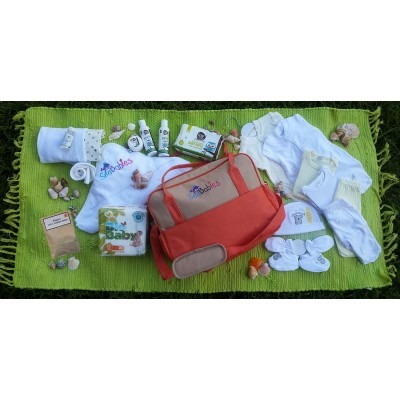 Eco Baby Hospital Diaper Bag Pre-Packed