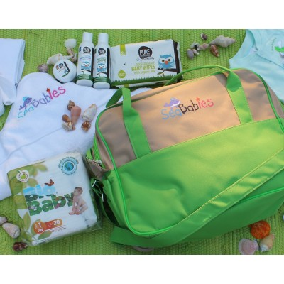 Eco Baby Hospital Diaper Bag Contents